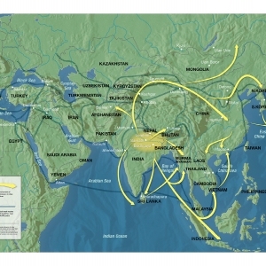 Spread of Buddhism & Hinduism