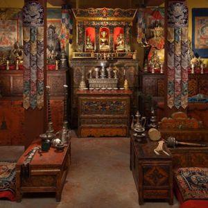 The Tibetan Buddhist Shrine Room