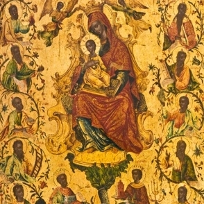 Embodying the Holy: Icons in Eastern Orthodox Christianity and Tibetan Buddhism