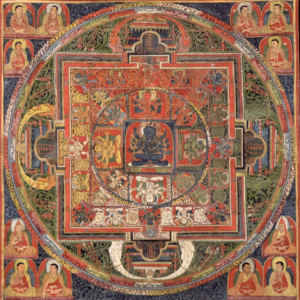 Explore the Mandala of Guhyasamaja