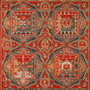 Four Mandalas of the Vajravali Cycle