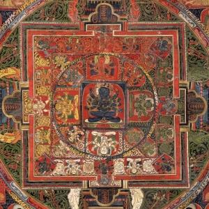 Mandala of Guhyasamaja, Akshobhyavajra
