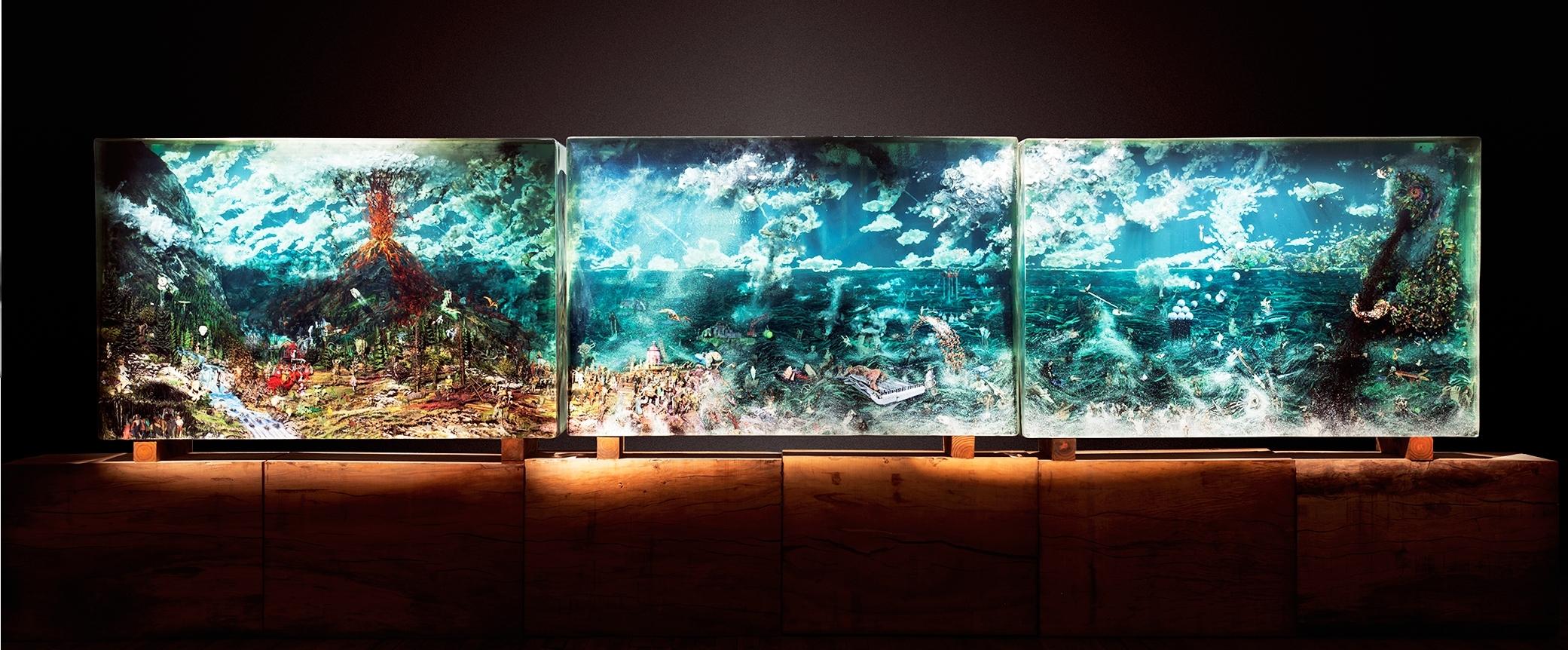 Dustin Yellin Artists On Art