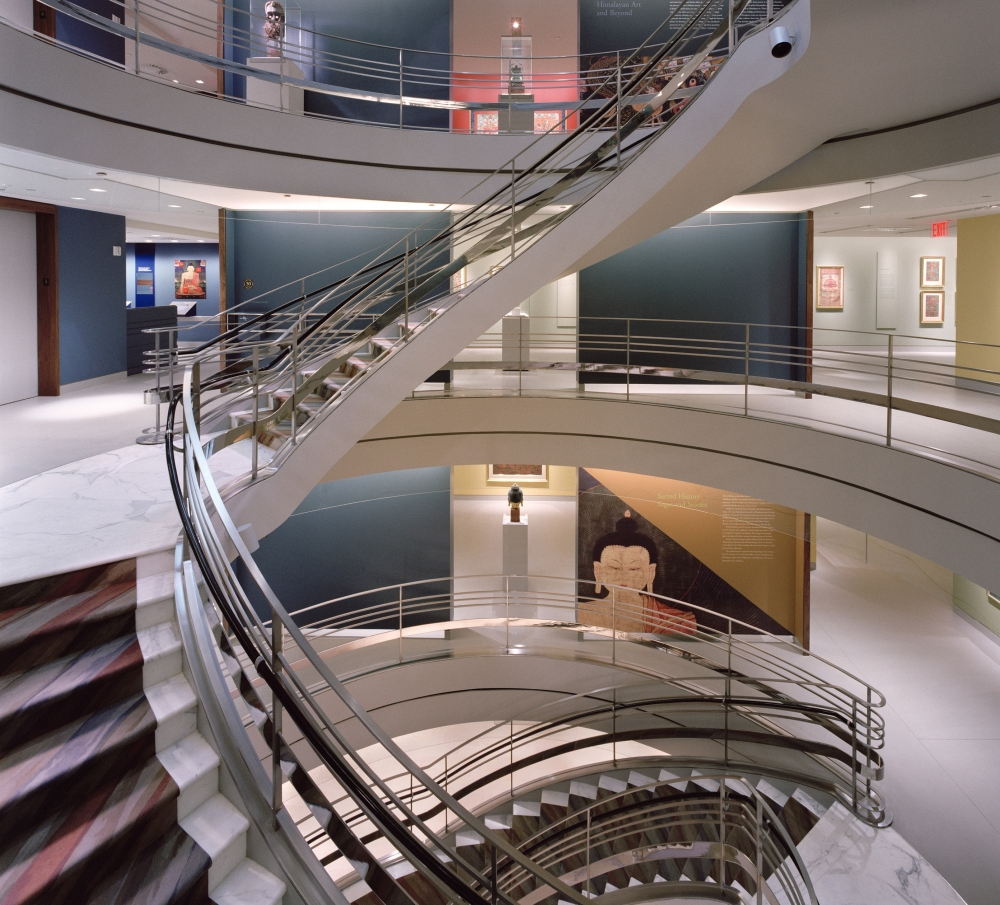A Journey Up The Museumu0027s Spiral Staircase With Curatorial Director Jorrit  Britschgi | Rubin Museum Of Art