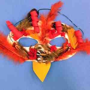 Fire Bird Masks and Lanterns