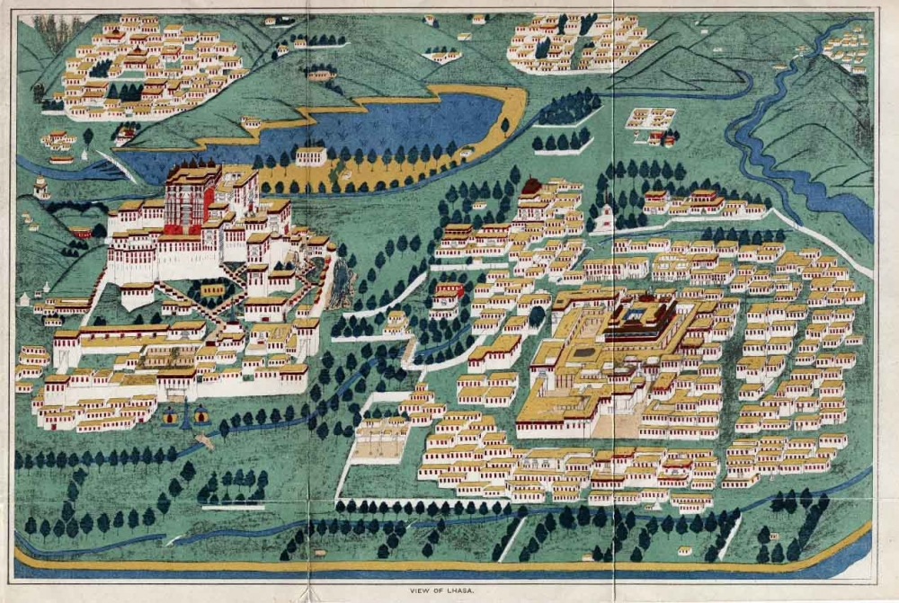 Mapping Lhasa: Visualizing a City over Time