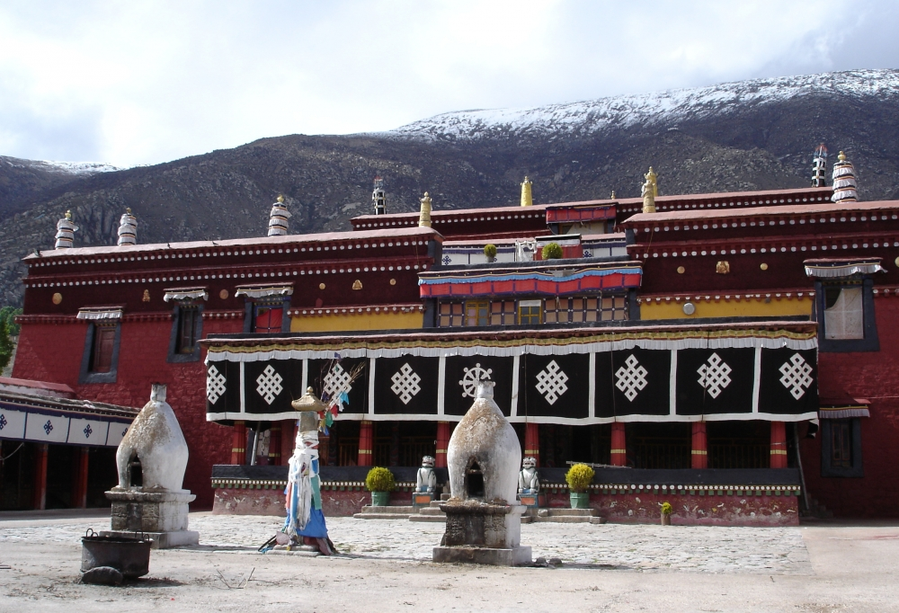 Tour the Cosmic Realm of Nechung Monastery