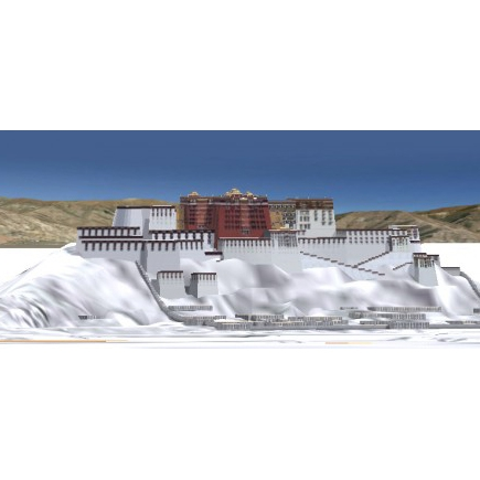 Virtual Lhasa: An Interactive 3D Map of Tibet's Historic Capital