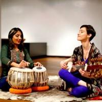 Roshni Samlal (tabla) + Camila Celin (sarod)
