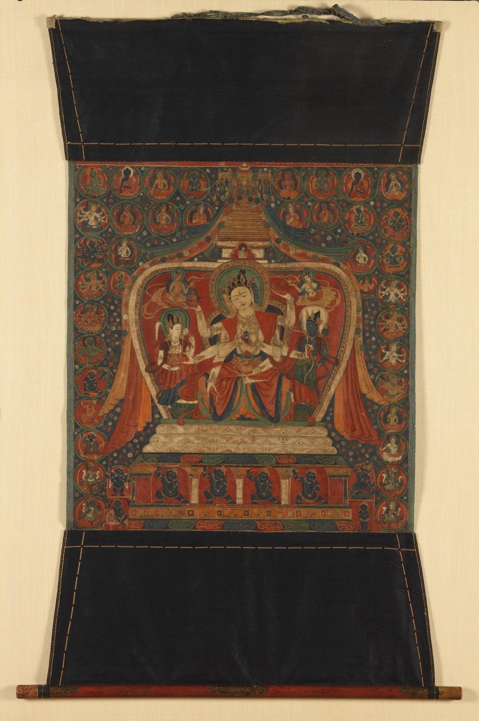 Goddess Of Long Life Ushnishavijaya